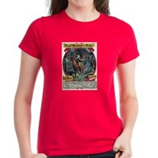 Paul Revere's Ride Women's Dark T-Shirt