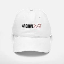 Archive Rat (Text) Baseball Baseball Cap