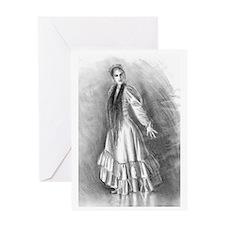 """""""Flamenco Light"""" Card Greeting Cards"""