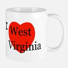 I Love West Virginia Mug