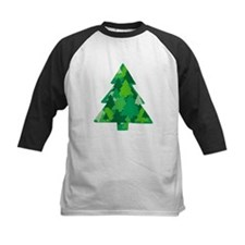 Forest in the Christmas Tree Baseball Jersey