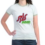 Judo Air Fly First Class Jr. Ringer T-Shirt
