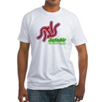 Judo Air Fly First Class Fitted T-Shirt