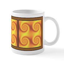 Golden Swirl Mug