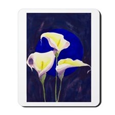 Calla Lily Watercolor Mousepad
