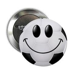 Soccer Ball Smiley Face 2.25