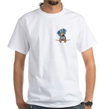 Black Pocket Dachsie Shirt