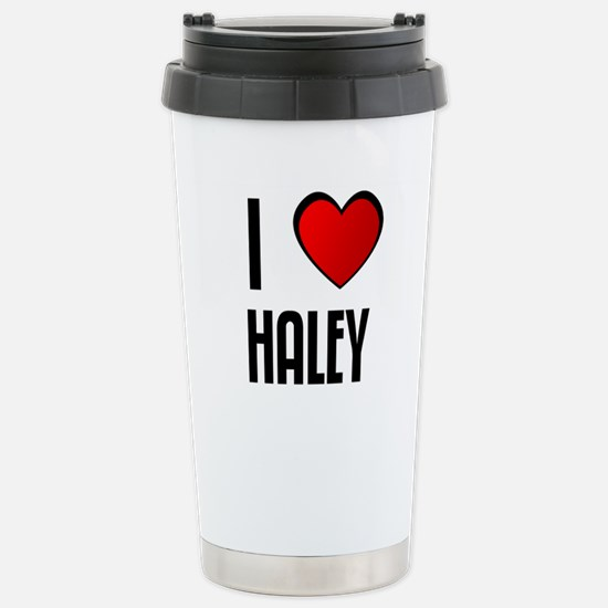 Cute Haley Travel Mug