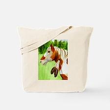 Apache Horse Tote Bag