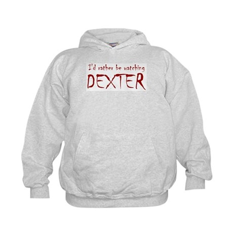 I'd rather be watching Dexter Kids Hoodie