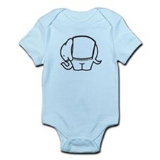 Cafe Elefant-1 Infant Bodysuit