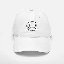 Cafe Elefant-1 Baseball Baseball Cap