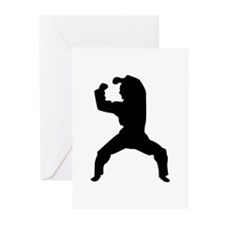 Kung Fu, Karate & Mixed Martial Arts Silhouette Gr