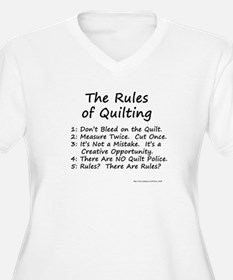 The Rules of Quilting T-Shirt