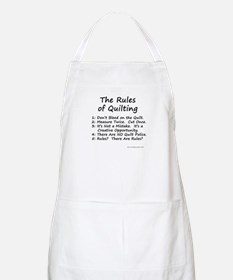 The Rules of Quilting Apron
