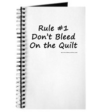 Quilting Rule #1 Journal