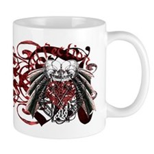 Affection Kissing Skulls Mug