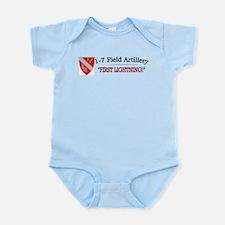 1st Bn 7th Field Artillery Infant Bodysuit