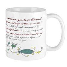 Pride & Prejudice -  Mug (Multiple Quotes)
