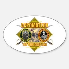 Appomattox Sticker (Oval)