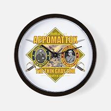 Appomattox Wall Clock