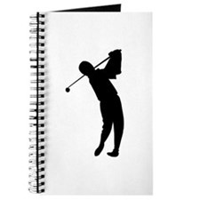 Golfing Silhouette Journal