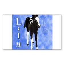 Cute Spotted saddle horses Decal