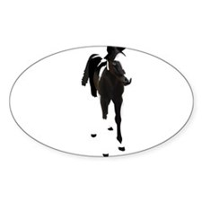Funny Spotted saddle horses Decal