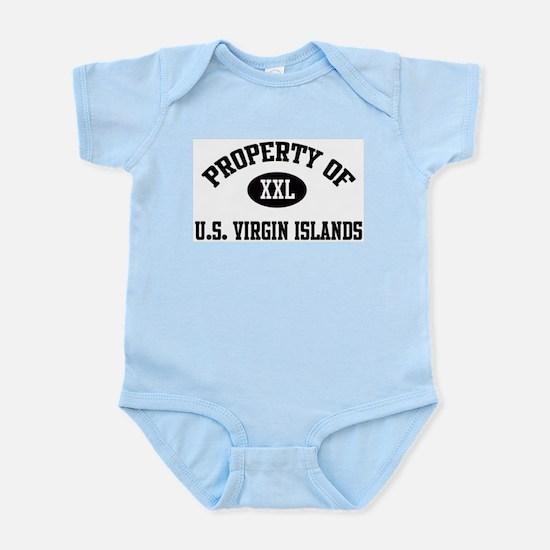 Property of U.S. Virgin Islan Infant Creeper