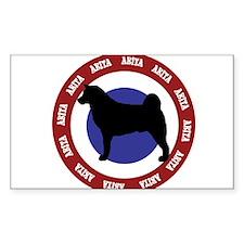 Akita Bullseye Decal