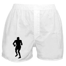 Boxing Silhouette Boxer Shorts
