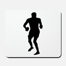 Boxing Silhouette Mousepad