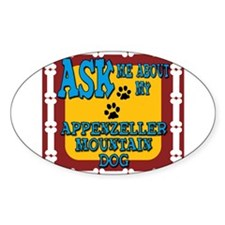 Appenzeller Mountain Dog Decal