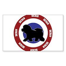 Bichon Bullseye Decal