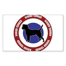 Border Terrier Bullseye Decal