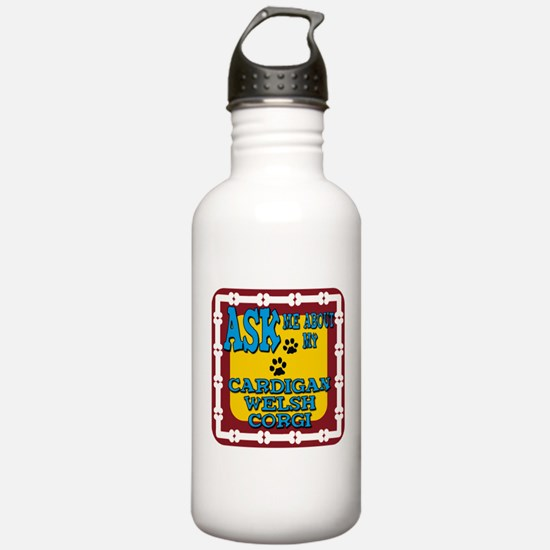 Cardigan Welsh Corgi Water Bottle