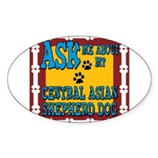 Central Asian Shepherd Dog Decal
