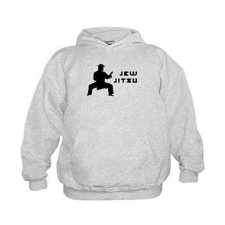 Jew Jitsu Kids Hoodie