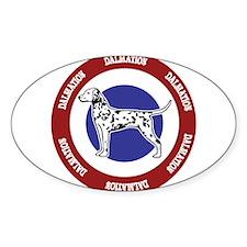 Dalmation Bullseye Decal