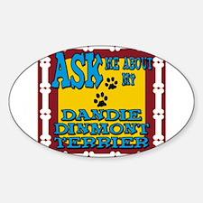 Dandie Dinmont Terrier Decal