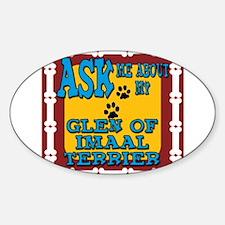 Glen of Imaal Terrier Sticker (Oval)