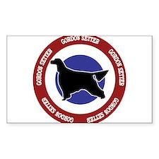 Gordon Setter Bullseye Decal