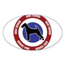 Irish Terrier Bullseye Decal