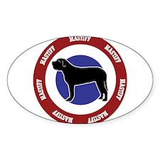 Mastiff Bullseye Decal
