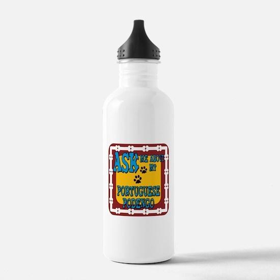 Portuguese Podengo Sports Water Bottle