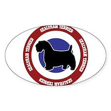 Sealyham Terrier Bullseye Decal