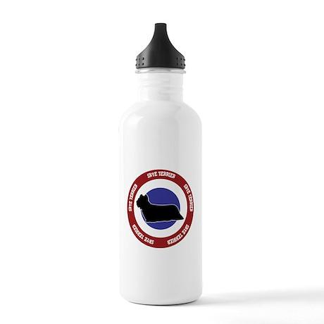 Skye Terrier Bullseye Stainless Water Bottle 1.0L