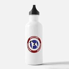 Smooth Fox Terrier Bullseye Water Bottle