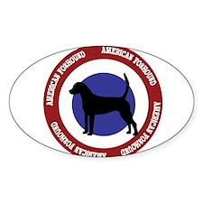 American Foxhound Bullseye Decal