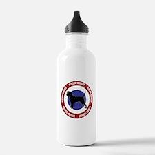 Border Terrier Bullseye Water Bottle